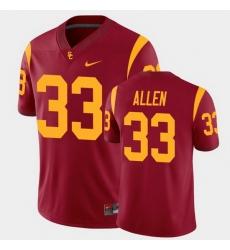 Men Usc Trojans Marcus Allen College Football Cardinal Alumni Player Game Jersey