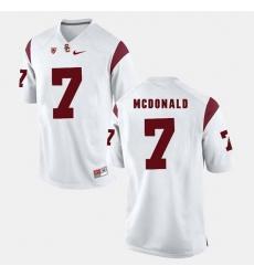 Men Usc Trojans T.J. Mcdonald Pac 12 Game White Jersey