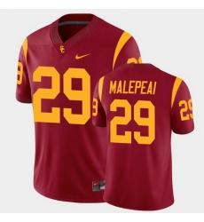 Men Usc Trojans Vavae Malepeai College Football Cardinal Alumni Player Game Jersey