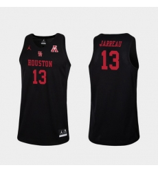 Men Houston Cougars Dejon Jarreau Black Replica College Basketball Jersey