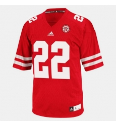 Men Nebraska Cornhuskers Rex Burkhead College Football Red Jersey