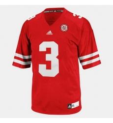 Men Nebraska Cornhuskers Taylor Martinez College Football Red Jersey