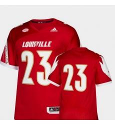 Men Louisville Cardinals Red College Football Premier Jersey