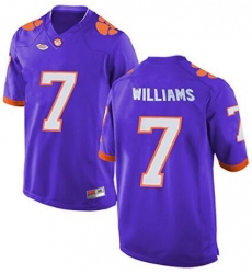 Clemson #7 Mike Williams Purple 2017 National Championship Bound Limited Jersey