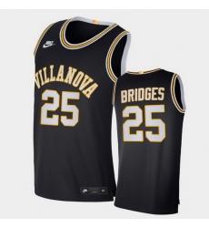 Men Villanova Wildcats Mikal Bridges Retro Limited Navy Elite Jersey