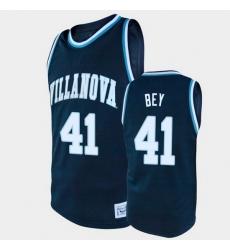 Men Villanova Wildcats Saddiq Bey Alumni Navy College Baketball Jersey