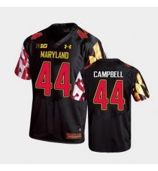 Men Maryland Terrapins Chance Campbell Replica Black College Football Jersey