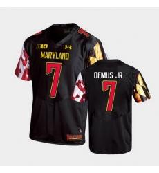 Men Maryland Terrapins Dontay Demus Jr. Replica Black College Football Jersey