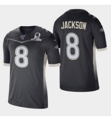 Men's Baltimore Ravens #8 Lamar Jackson 2020 AFC Pro Bowl Game Jersey