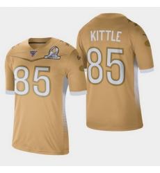 Men's San Francisco 49ers #85 George Kittle 2020 NFC Pro Bowl Game Jersey