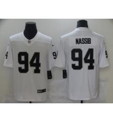 Nike Raiders 94 Carl Nassib White Vapor Untouchable Limited Jersey