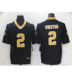 Nike Saints 2 Jameis Winston Black Vapor Untouchable Limited Jersey
