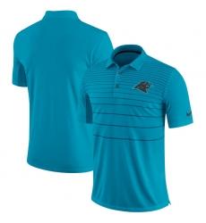 Men Carolina Panthers Nike Blue Early Season Polo