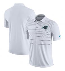 Men Carolina Panthers Nike White Early Season Polo