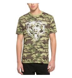 Men Chicago Bears  2747 Camo Alpha T Shirt