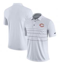 Men Chicago Bears Nike White Early Season Polo