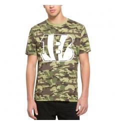 Men Cincinnati Bengals   2747 Camo Alpha T Shirt