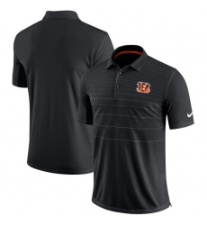 Men Cincinnati Bengals Nike Black Early Season Polo