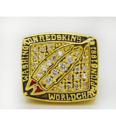 NFL Washington Redskins 1991 Championship Ring