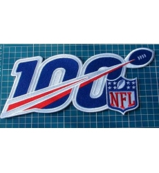 NFL 100th Years Anniversary 2019 Logo Patch