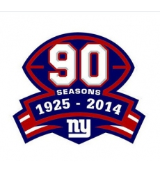 Stitched NFL New York Giants 1925-2014 Season Jersey Patch