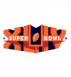 Stitched Super Bowl 44 XLIV Jersey Patch New Orleans Saints vs.Indianapolis Colts
