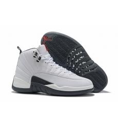 Air Jordan 12 Retro 2019 New White Black Men Shoes