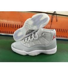 Air Jordan 11 Retro 2018 Men Shoes Cool Grey White Red