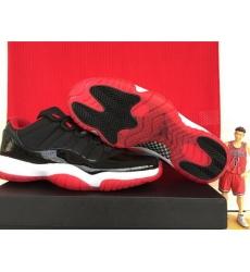 Air Jordan 11 Shoes 2015Low Bred Georgetown Black Rede