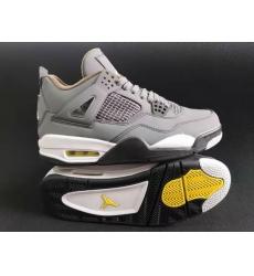 Air Jordan 4 Retro 2019 Silver Grey Men Shoes