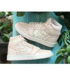 Air Jordan 1 Nike Swoosh Sakura Women Shoes