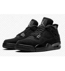 Air Jordan 4 Retro Black Cat 2020 Women Shoes