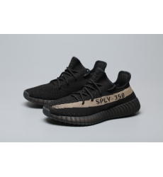 adidas Yeezy Boost 350 V2 Core Black Green Men Shoes