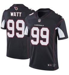 Men Nike Arizona Cardinals 99 J J  Watt Black Alternate Men Stitched NFL Vapor Untouchable Limited Jersey