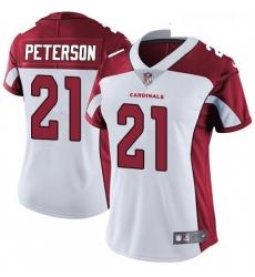 Womens Nike Arizona Cardinals 21 Patrick Peterson Elite White NFL Jersey