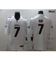 Men Nike Atlanta Falcons 7 Younghoe Koo White New Vapor Untouchable Limited Jersey