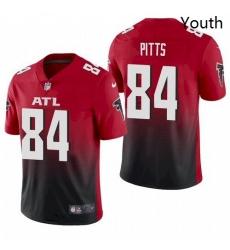 Youth Atlanta Falcons Kyle Pitts Red 2021 Draft Jersey