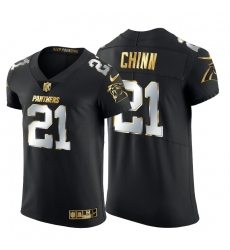 Carolina Panthers 21 Jeremy Chinn Men Nike Black Edition Vapor Untouchable Elite NFL Jersey