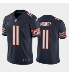 Men Chicago Bears 11 Darnell Mooney Vapor Untouchable Limited Navy Jersey