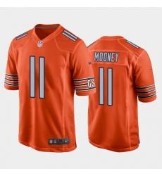 Men Chicago Bears 11 Darnell Mooney Vapor Untouchable Limited Orange Jersey