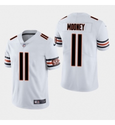 Men Chicago Bears 11 Darnell Mooney Vapor Untouchable Limited White Jersey