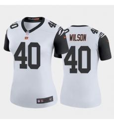 Women Nike Cincinnati Bengals 40 Brandon Wilson Color Rush Jersey