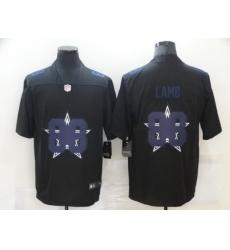 Nike Dallas Cowboys 88 Ceedee Lamb Black Shadow Logo Limited Jersey