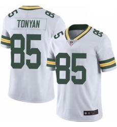 Youth Green Bay Packers Robert Tonyan White Vapor Limited Jersey