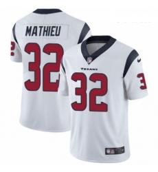 Youth Nike Houston Texans 32 Tyrann Mathieu White Vapor Untouchable Limited Player NFL Jersey