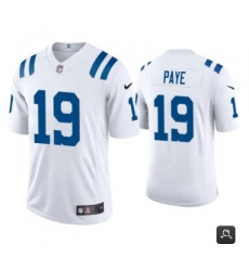 Men Indianapolis Colts #19 Kwity Paye White 2021 Vapor Untouchable Limited Stitched NFL Jersey