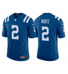 Youth Indianapolis Colts Carson Wentz 2 Blue Vapor Limited Jersey