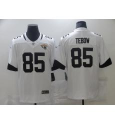 Men Jacksonville Jaguars Tim Tebow Nike White Untouchable Vapor Limited Jersey
