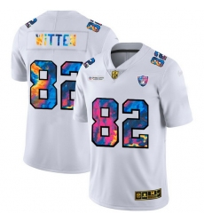 Las Vegas Raiders 82 Jason Witten Men White Nike Multi Color 2020 NFL Crucial Catch Limited NFL Jersey