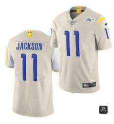 Men Los Angeles Rams #11 DeSean Jackson 2020 Bone Vapor Untouchable Limited Stitched NFL Jersey